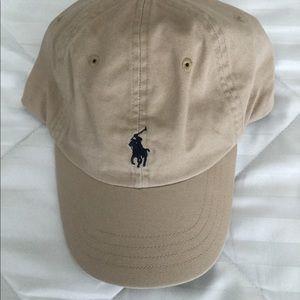 Polo Ralph Lauren Baseball Caps OS Adjustable Tan